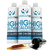 Miracle Vet High Calorie Weight Gainer for Dogs & Cats - 2,400 Calories (1 Bottle -...